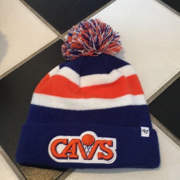 Cleveland cavaliers 47 winter hat dd9593ebc91